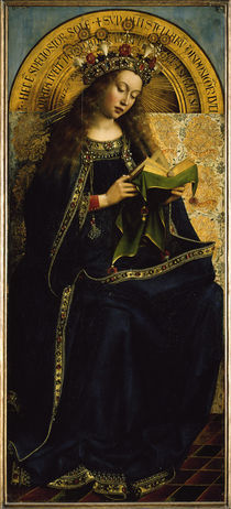 Jan v.Eyck, Genter Altar, Maria (Deesis) von AKG  Images