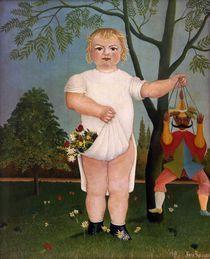 H.Rousseau, Zu Ehren eines Kindes by AKG  Images
