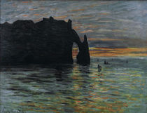 Claude Monet, Sonnenuntergang by AKG  Images