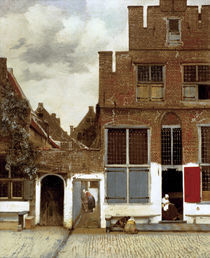 Vermeer, Strasse in Delft by AKG  Images