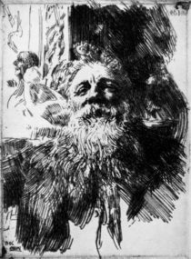 Auguste Rodin / Rad.v.Anders Zorn by AKG  Images