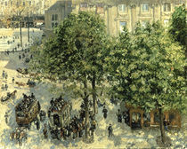Pissarro/ Place du Theatre Francais/1898 by AKG  Images
