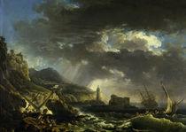 C.J.Vernet, Der Schiffbruch by AKG  Images