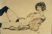 Egon Schiele, Liegender Frauenakt von AKG  Images