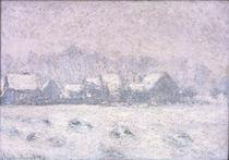 C.Monet, Effet de neige a Giverny by AKG  Images