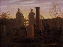 C.D.Friedrich, Kuegelgens Grab von AKG  Images