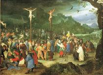 J.Brueghel d.Ae., Kreuzigung Christi von AKG  Images