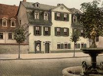 Weimar, Schillerhaus / Photochrom von AKG  Images