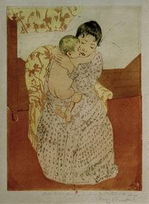 M.Cassatt, Frau und Kind von AKG  Images