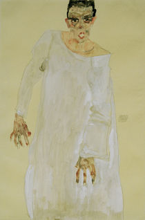 Egon Schiele, Selbstbildnis, Rufender by AKG  Images