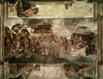 Michelangelo, Sintflut by AKG  Images