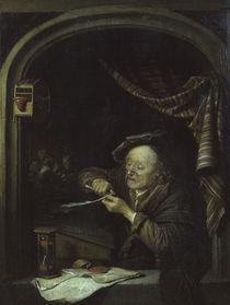 Gerard Dou/ Der alte Schulmeister/1671 by AKG  Images