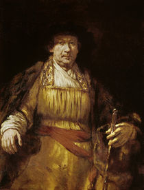Rembrandt, Selbstbildnis 1658 by AKG  Images