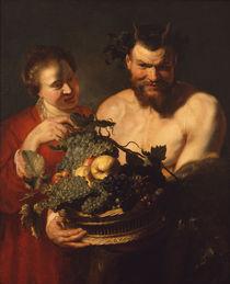 Rubens, Faun und Maedchen von AKG  Images