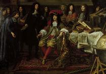 Ludwig XIV. u.Akademie d.W./ Testelin von AKG  Images