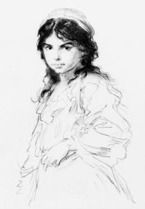 L.Knaus, Zigeunermaedchen by AKG  Images