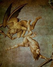 Luca Signorelli, Ende der Menschheit by AKG  Images