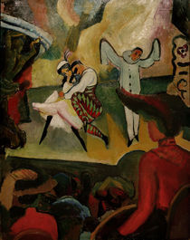 August Macke, Russisches Ballett von AKG  Images