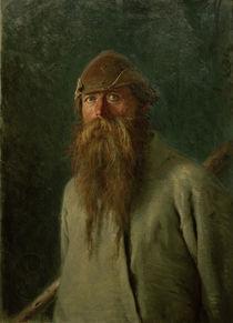 I.N.Kramskoi, Der Waldhueter by AKG  Images