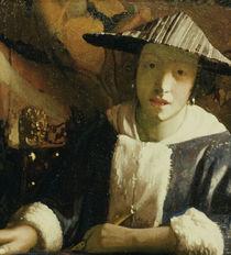 Vermeer, Maedchen mit Floete von AKG  Images