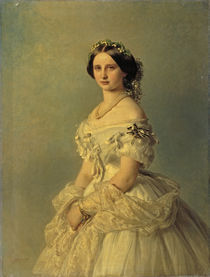 Luise von Baden / Gem.v.Winterhalter by AKG  Images