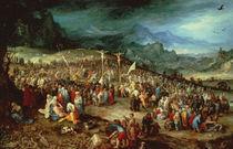 J.Brueghel e.Ae. / Kreuzigung von AKG  Images