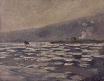 C.Monet, Les Glacons, ecluse de Port V. by AKG  Images