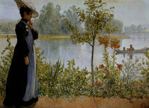 Carl Larsson, Spaetsommer by AKG  Images