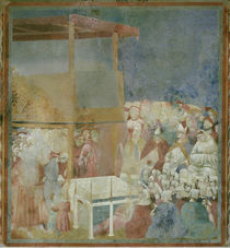 Giotto, Heiligsprechung des Franziskus by AKG  Images