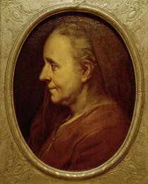 Ch.Le Brun, Bildnis einer alten Frau von AKG  Images