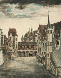 Duerer, Hof des alten Schlosses Innsbruck by AKG  Images