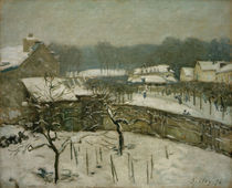 A.Sisley, Schneesturm in Marly by AKG  Images