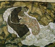 E.Schiele, Tod und das Maedchen by AKG  Images