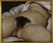 G.Courbet, Der Ursprung der Welt by AKG  Images