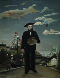 Henri Rousseau, Selbstbildnis 1890 by AKG  Images
