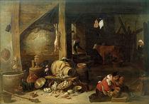David Teniers d.J., Im Stall von AKG  Images