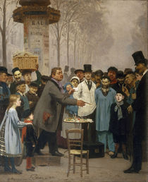 Repin/ Neuheitenverkaeufer in Paris/1873 by AKG  Images