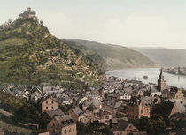 Marksburg mit Braubach / Photochrom by AKG  Images