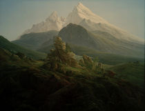 C.D.Friedrich, Der Watzmann von AKG  Images