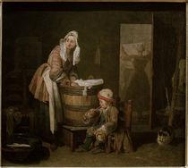 J.B.S.Chardin, Die Waescherin von AKG  Images