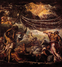 Tintoretto, Die Mannalese by AKG  Images