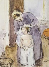 Pissarro/Toilette (Mutter und Kind)/1883 von AKG  Images