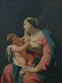 S.Vouet, Madonna mit dem Kind by AKG  Images