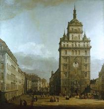 Dresden, Kreuzkirche / Bellotto by AKG  Images
