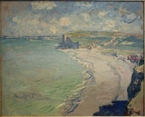 Claude Monet, Strand von Pourville by AKG  Images