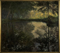 C.Monet, Teich in Montgeron von AKG  Images