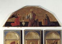Giov.Bellini, Gottvater mit Verkuendigung by AKG  Images