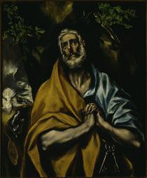 El Greco, Weinender Petrus by AKG  Images