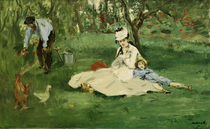 Die Familie Monet im Garten/ E.Manet by AKG  Images