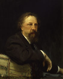 A.K.Tolstoj / Gem.v.Repin by AKG  Images